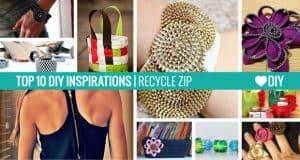 10 Ispirazioni – Riciclo ZIP