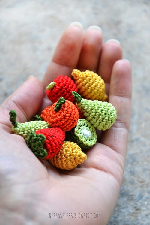 Frutta Uncinetto - Love DIY