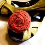 Rosette Shoe Clips