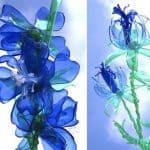 Fiori di Plastica Riciclata