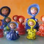 Bambole di Conchiglie