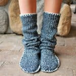 Pantofole di Lana Fai da Te