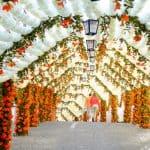 Festas do Povo, una città decorata con la carta